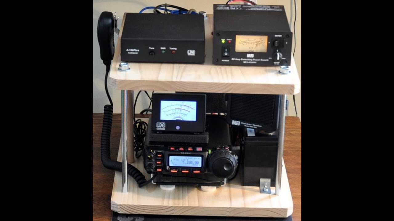 Yaesu Ft 857d Portable Box Completed