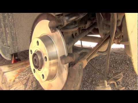 Audi A6 Takajarrulevyjen Vaihto Opetusvideo Youtube