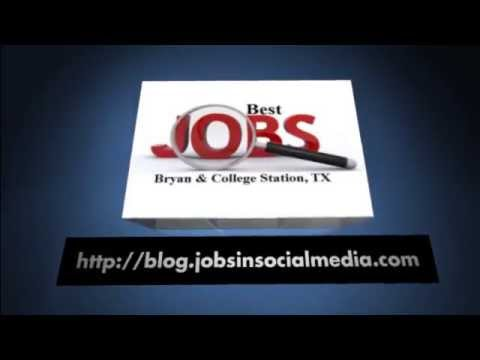 Best Jobs in Bryan and College Station Texas