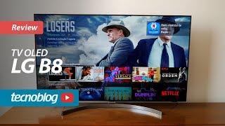 TV OLED LG B8 - Review Tecnoblog