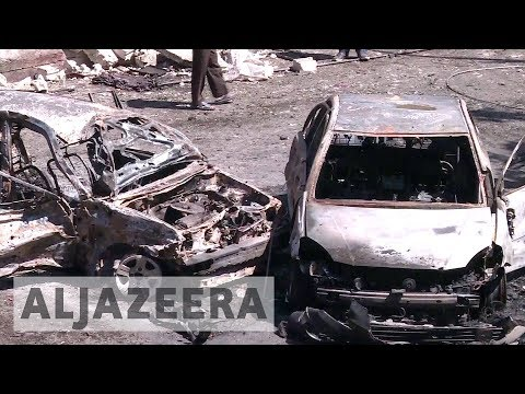 Deadly car bomb blasts rock Syria's Damascus