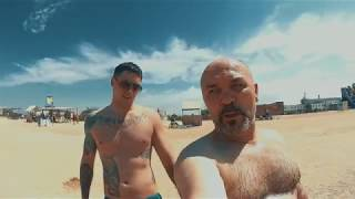 видео Должанская коса, Азовское море: пляжи, базы отдыха