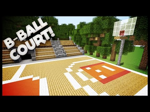 Full download minecraft lets build basketball court for How to build a basketball court