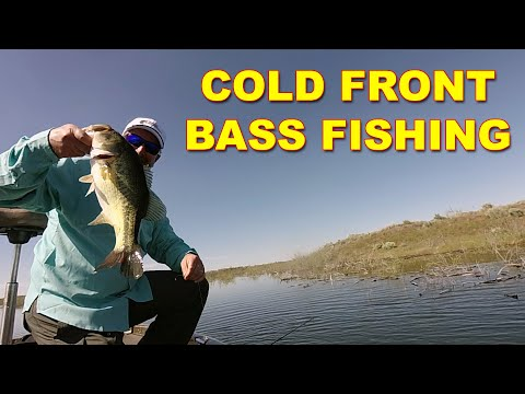 Prespawn Cold Front Bass Fishing In Spring