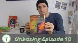 Unboxing Fantasyroman »Verschwörung des Himmels – Teil 2 (Tad Time #10 | Die Powerfantasy-Serie)«