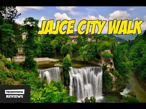 Jajce City Walk in Bosnia and Herzegovina(Places to visit in 2018)FHD 60FPS Video by TechUtopia #5