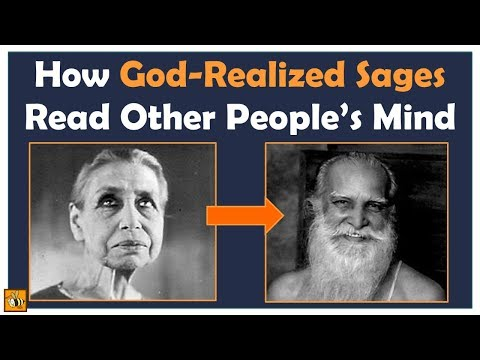 Is Mind-Reading Possible? How God-Realized Sages Read People's Mind
