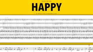 Happy (Pharrell Williams) - Marzio Arrangement (Sheet Download)