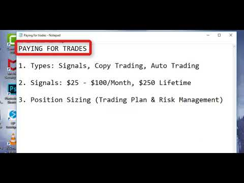 What you must know about paying for FOREX trade signals