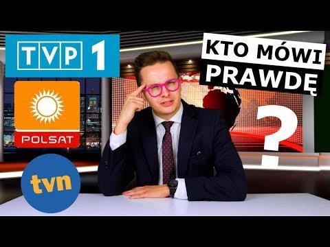 CZY MEDIA NAS KŁAMIĄ - TEST TVP1, TVN i POLSAT!