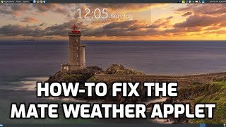 How to Fix the MATE Weather Applet