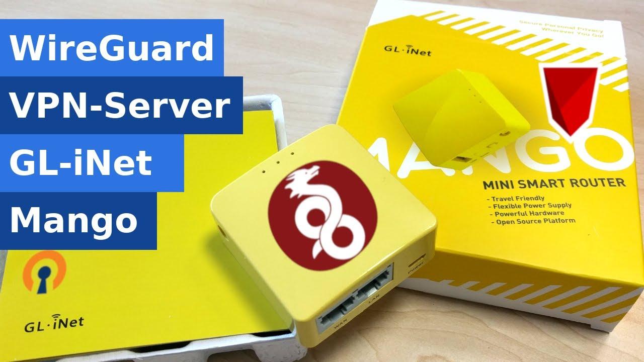 Wireguard VPN-Server im Mango Mini-Router