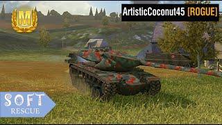 T57 Heavy Tank: 6600 Damage - WOT BLITZ - screenshot 4