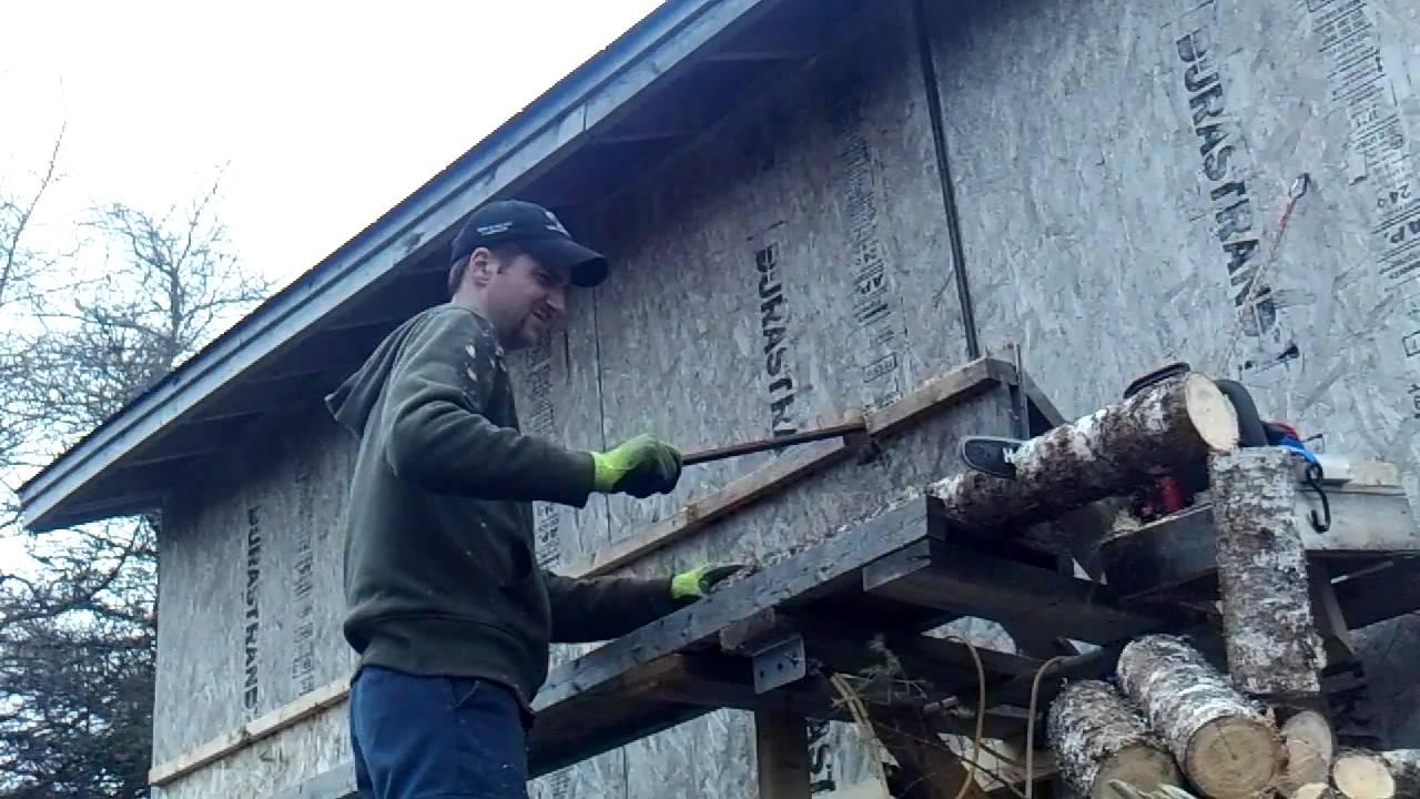 Firewood Processor Redneck Chopsaw In Hd Doovi