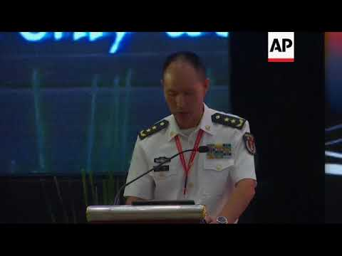 Chinese navy chief speaks at maritime meeting