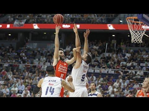 Lo más destacado del Real Madrid – Valencia Basket (Partido 2)