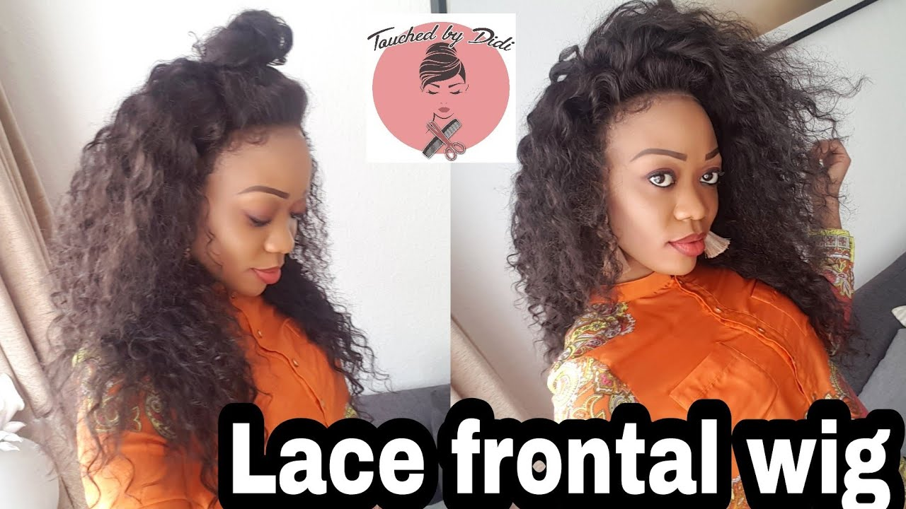 how to make a lace frontal wig tutorial per cke zum selber machen youtube