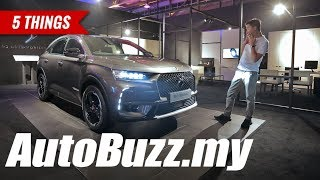 DS 7 Crossback SUV, 5 Things - AutoBuzz.my