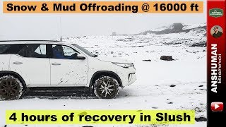 Fortuner, Pajero Sport, D-Max- High Altitude Offroading | Snow & Mud | July 2018