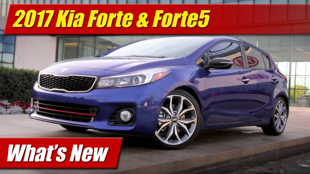2017 kia forte forte5 what 39 s new youtube. Black Bedroom Furniture Sets. Home Design Ideas