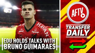 Edu To Hold Transfer Talks With Bruno Guimaraes & Kurzawa Five Year Deal | AFTV Transfer Daily