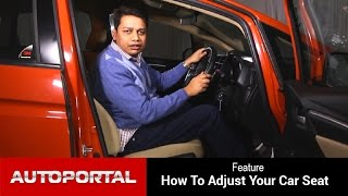 How to - Adjust Your Car Seat