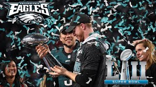 Eagles Are Champs Day 1!!! Nick Foles A Philly Legend, Carson Wentz Motivated , Sleep, DINGBATS!!