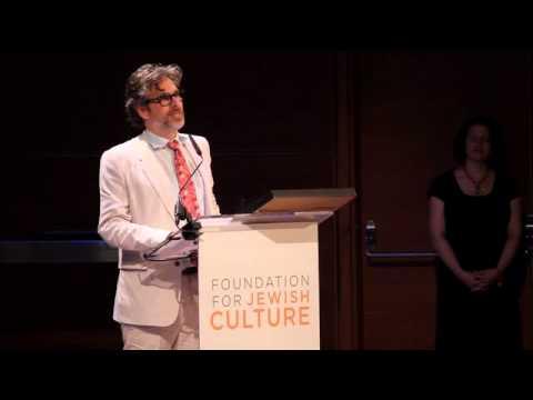 Jewish Cultural Achievement Award Recipient: Michael Chabon