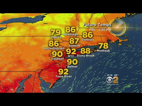 First Day Of Possible Heat Wave In The Books