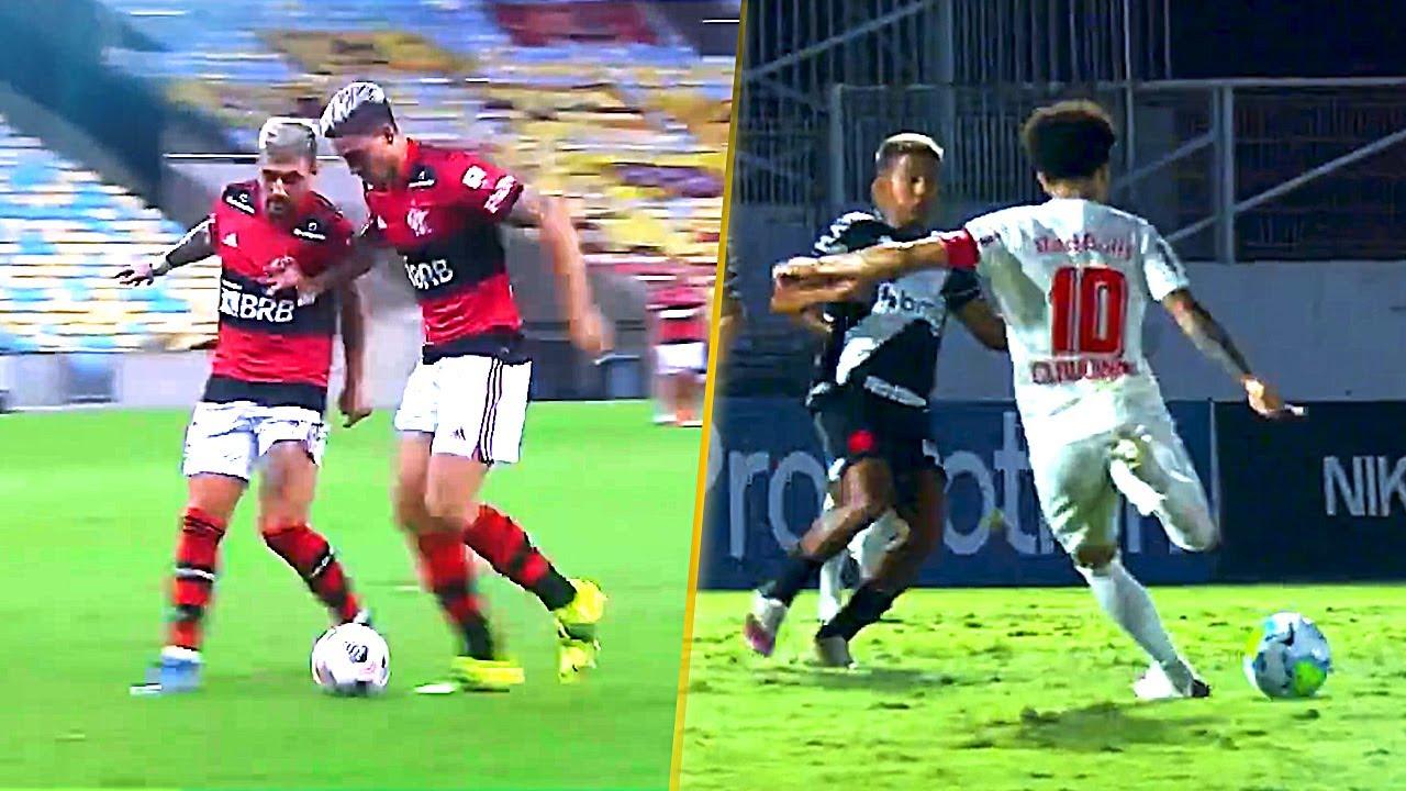 TOP 50 Gols Impressionantes de 2021 - Futebol Brasileiro - Janeiro/Junho