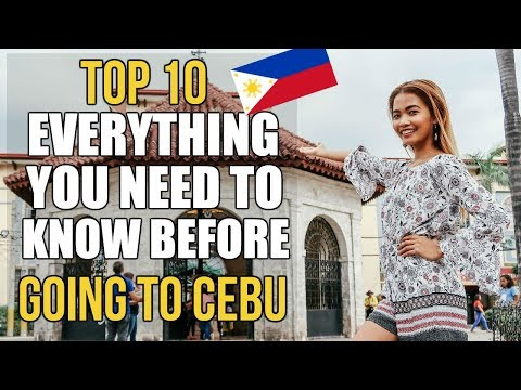 10 Things YOU NEED TO KNOW Before Travelling to CEBU PHILIPP