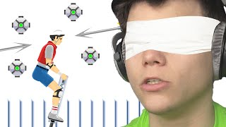 BLINDFOLD IMPOSSIBLE CHALLENGE! (HAPPY WHEELS #93)