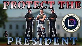 Fortnite - Protect The President! - Ninja, TimTheTatMan, BasicallyIDoWrk - June 2018 | DrLupo