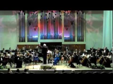 """Волгоградский академический симфонический оркестр. В.Монти. """"Чардаш""""."""