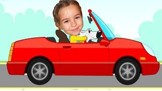 Driving in My Car  Funny Songs for Children