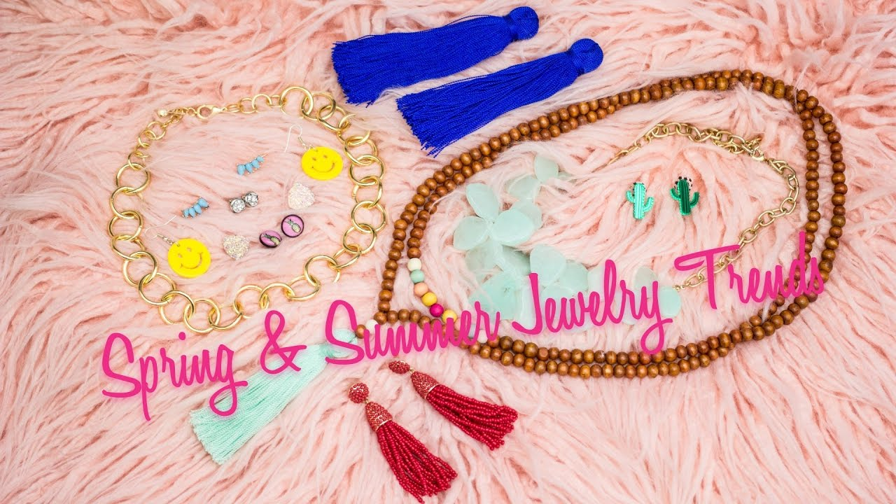 Spring summer jewelry trends 2017 youtube for Jewelry trends 2017 summer