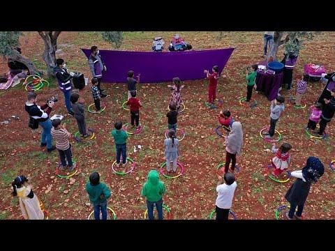شاهد: عرض مسرحي لتوعية أطفال اللاجئين السوريين بمخاطر فيروس كورونا…  - نشر قبل 8 ساعة