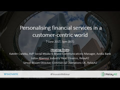 Personalising financial services in a customer-centric world
