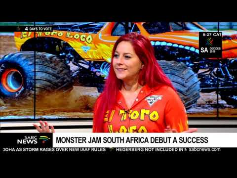 Monster Jam South Africa debut a success