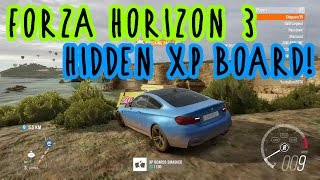 Forza Horizon 3 - HIDDEN XP BOARD!