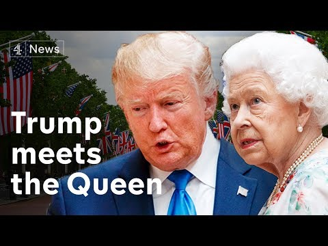 Trump UK state visit begins with Twitter attack on London mayor