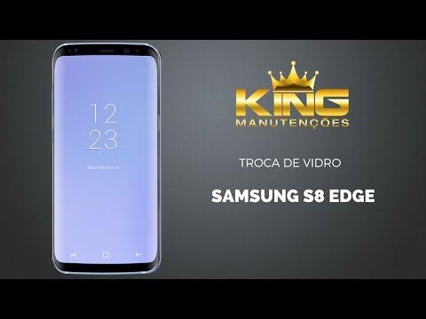 Como trocar só a tela vidro Samsung Galaxy  S8 G950