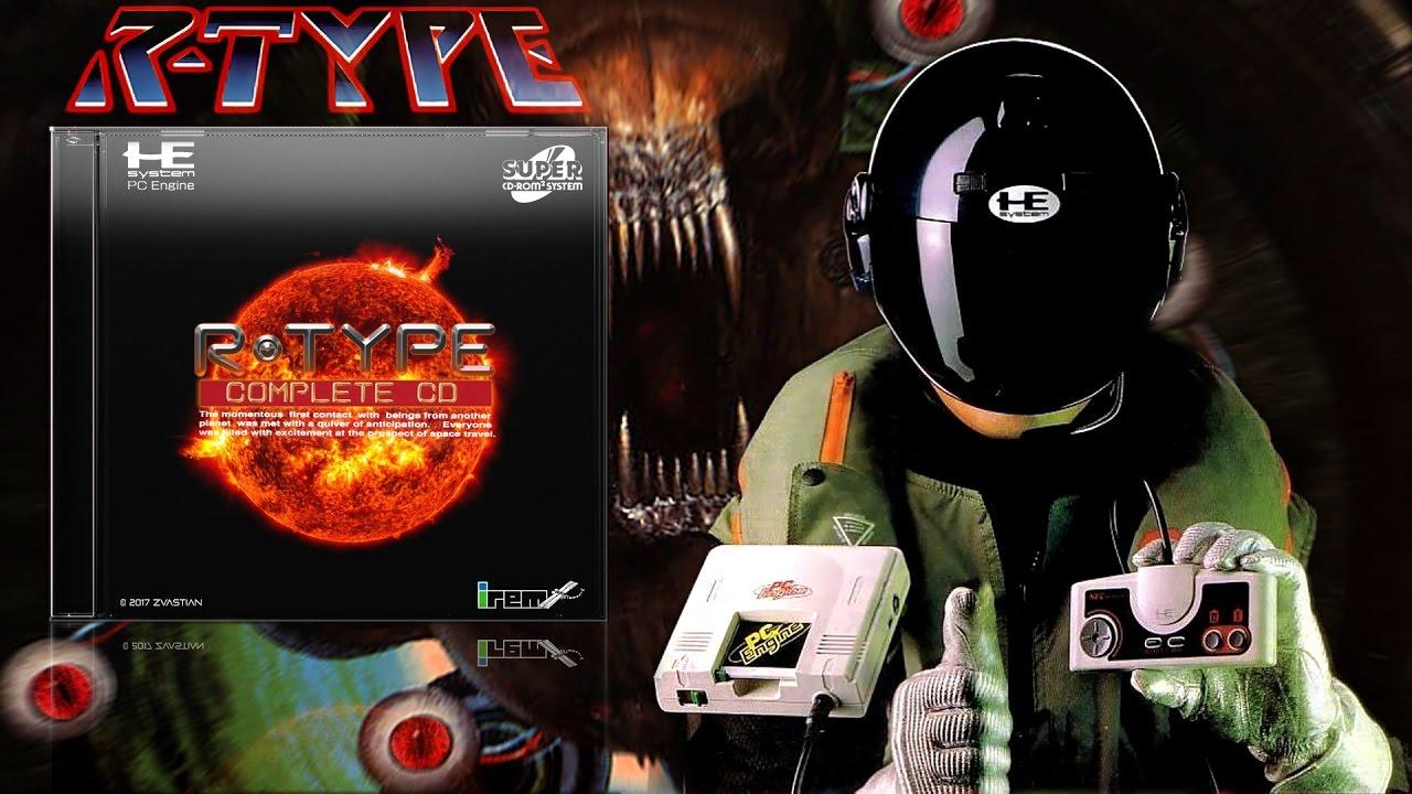 R-TYPE COMPLETE CD - PC Engine アールタイプ コンプリートCD PCエンジン