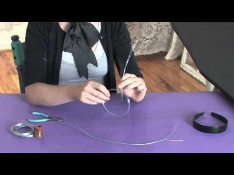 DIY Wire Lolita Crown : Being Crafty