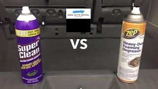 Super Clean Foam Degreaser VS Zep Heavy Duty Foaming Degreaser!!!