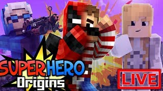 WELCOME HOME PARTY! Minecraft Super Hero Origins LIVE #18.1 (Modded Minecraft Roleplay)