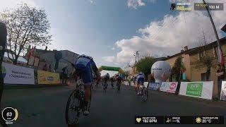 Onboard With Ollie Peckover | La Coupe du President de la Ville de Grudziadz | Stage 3 - Last 10km