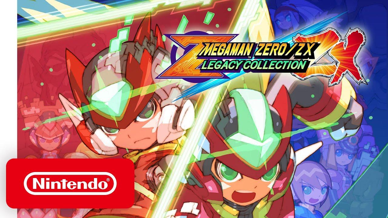 Assistir - Mega Man Zero/ZX Legacy Collection - Launch Trailer - Nintendo Switch - online