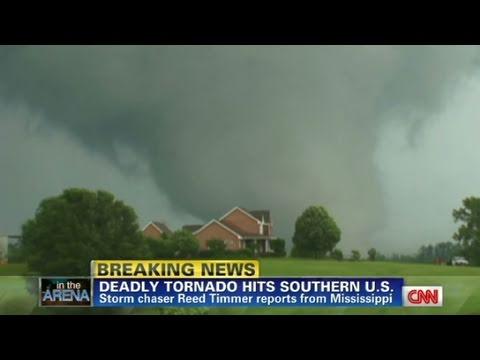 CNN: Storm chaser, Reed Timmer  'Most violent I've seen'