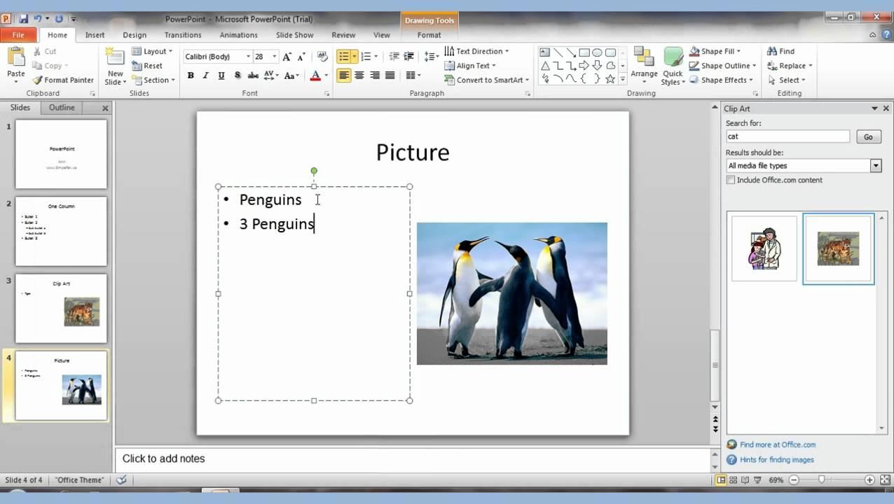 PowerPoint 2010 pt 1 - YouTube